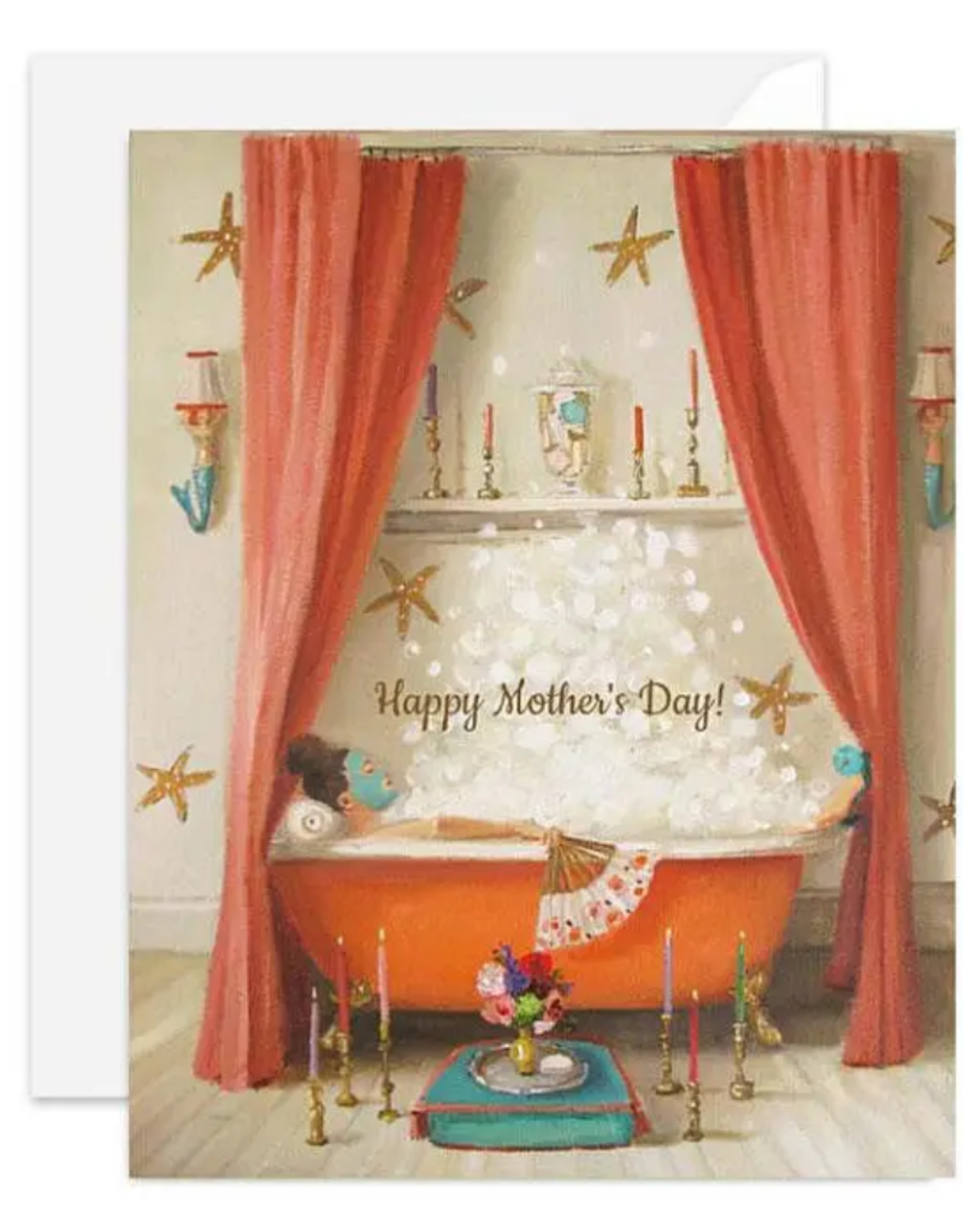 """Faire/Janet Hill Studio CARD-HOLIDAY """"PRINCESS EDWINA MOTHER'S DAY"""""""