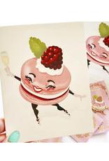 "Faire/Kitschy Delish CARD-BLANK ""MACAROON"""