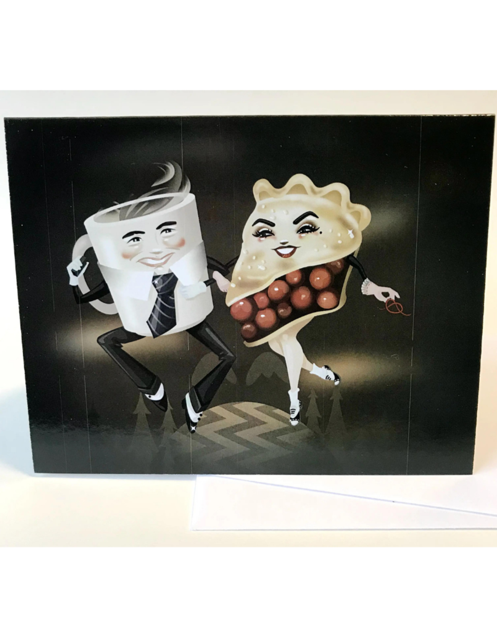 "Faire/Kitschy Delish CARD-BLANK ""DAMN FINE"""