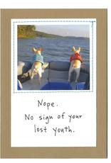 "CARD-BIRTHDAY "" LOST YOUTH"""