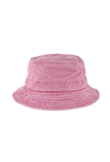 HAT-BUCKET-WASHED COTTON