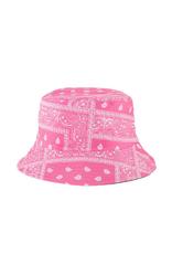 HAT-BUCKET BANDANA PRINT