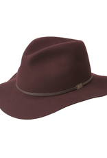 """Bailey Hat Co. HAT-FEDORA""""JACKMAN""""ROLL UP"""