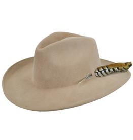"""Bailey Hat Co. HAT-WESTERN W/FTR """"CALICO"""""""