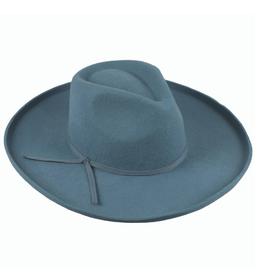 HAT-WIDE BRIM BOUND EDGE