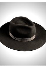 HAT-WIDE BRIM PINCH FRONT FEDORA