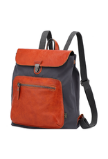 BACKPACK-VALLEY TRAIL COATED CANVAS