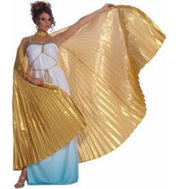 CAPE PLEATED, GOLD