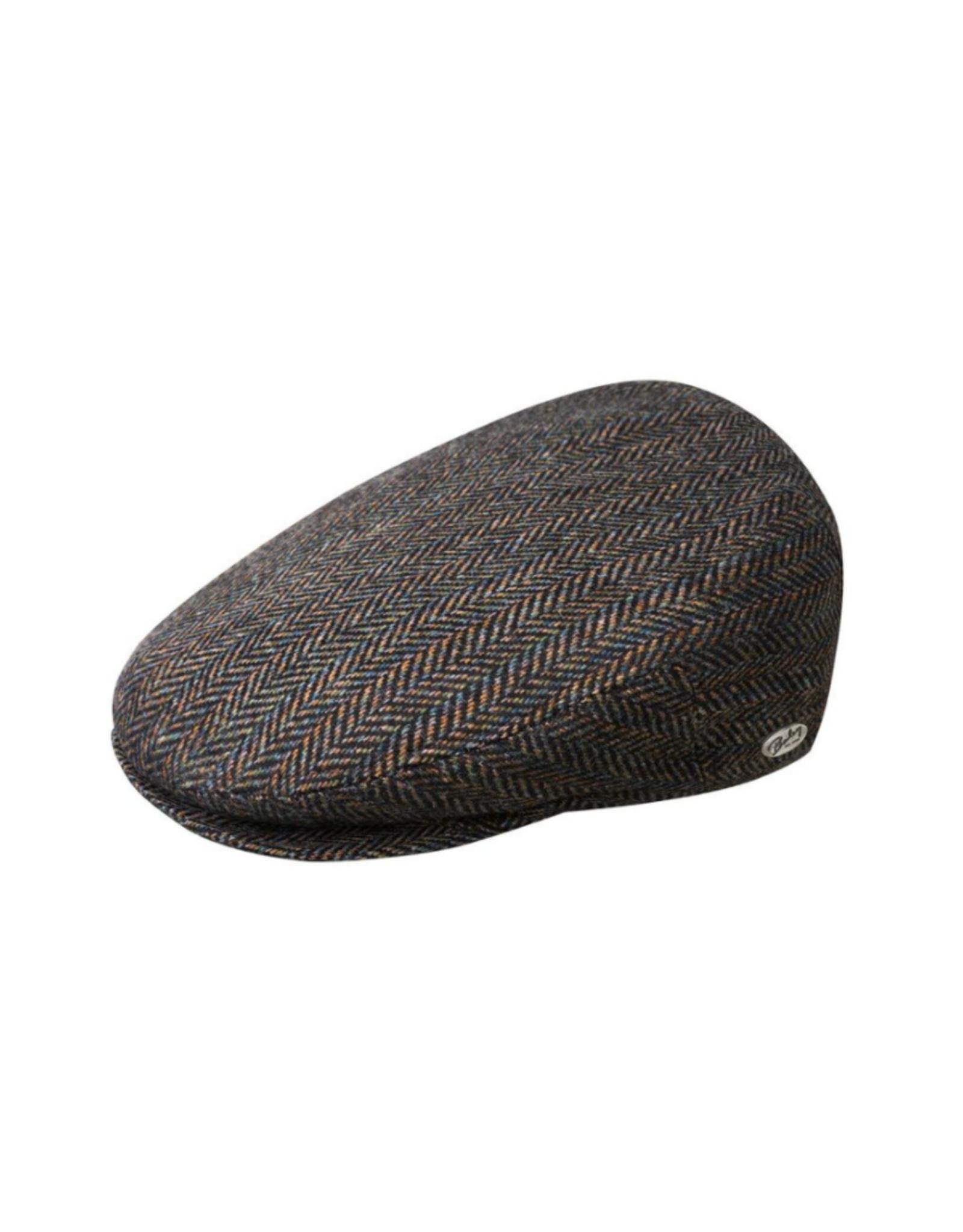 "Bailey Hat Co. HAT-IVY CAP ""LORD STRIPE HERRINGBONE"""