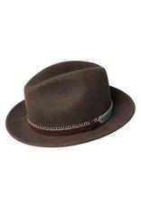 "Bailey Hat Co. HAT-FEDORA ""ACKER"" W 2TONE BAND"