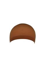 WIG CAP, BROWN