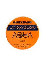 Kryolan AQUACOLOR-UV DAYGLOW, ORANGE