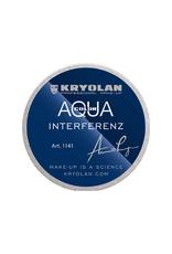 Kryolan AQUACOLOR-INTERFERENZ FOUNDATION, SILVER