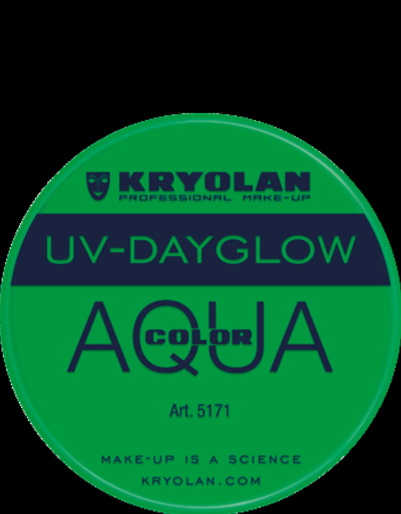 Kryolan AQUACOLOR-UVDAYGLOW, GREEN
