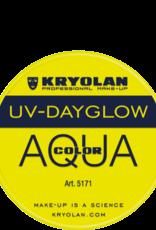 Kryolan AQUACOLOR-UVDAYGLOW, YELLOW