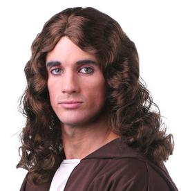 WIG-CTR-JESUS  MEDIUM BROWN