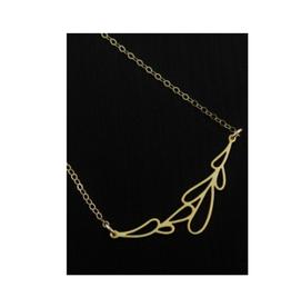 Faire/Sosie Designs NECKLACE-DEWDROP GOLD