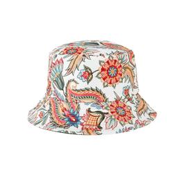 HAT-BUCKET-PAISLEY/FLOWERS