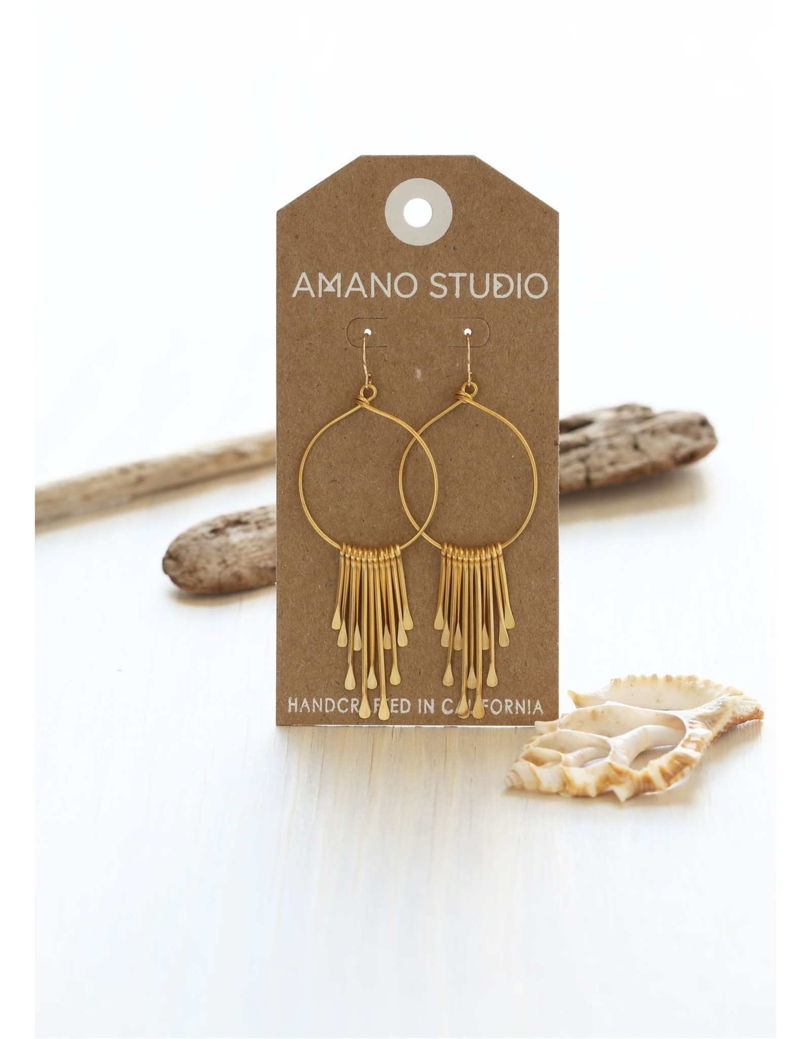 Faire/Amano Studio EARRINGS-RAIN GODESS