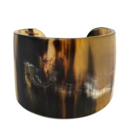 Faire/Anju Jewelry BRACELET-CUFF OMALA POLISHED GLD