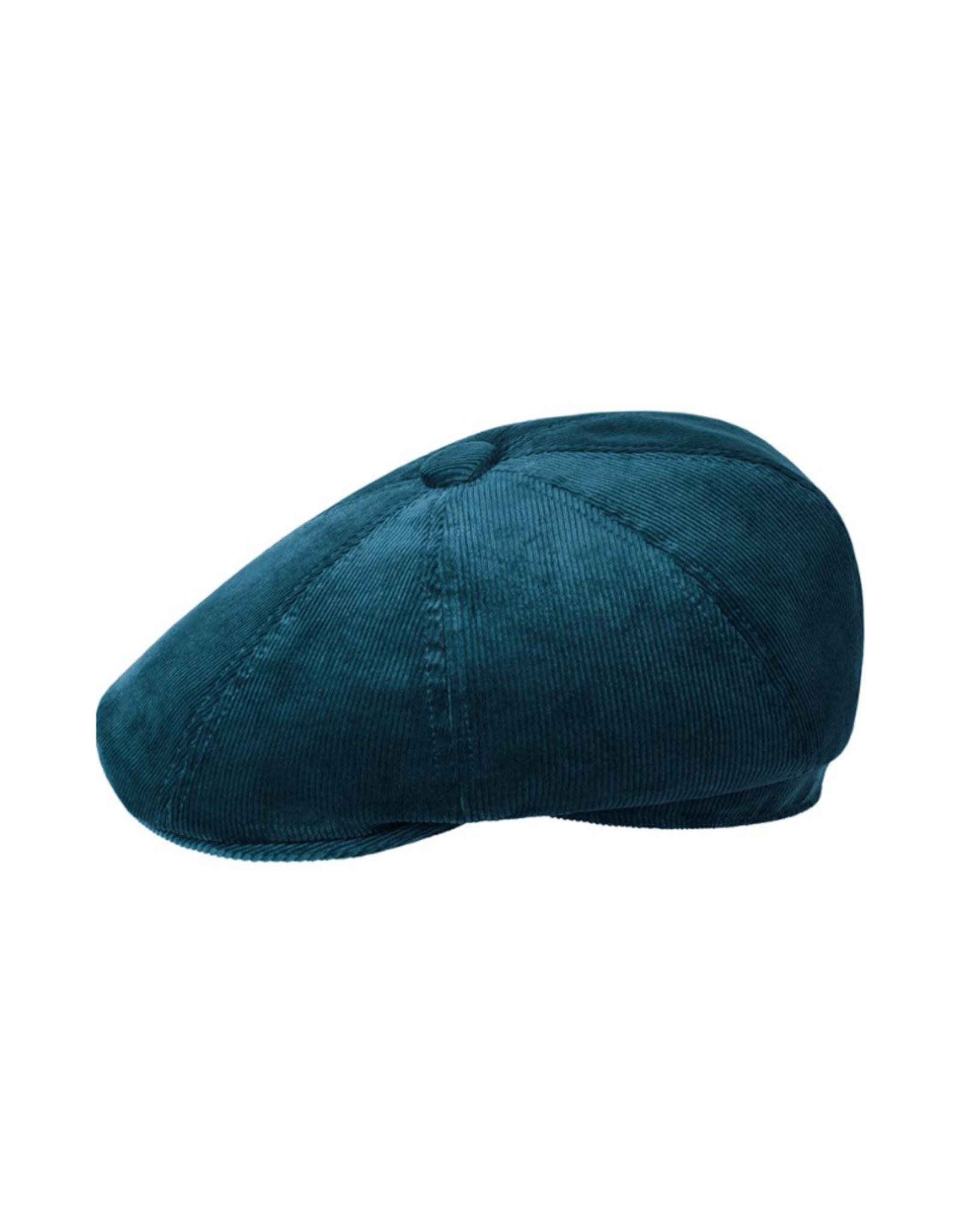 """Kangol HAT-8 PANEL  CAP """"CORD HAWKER"""" CORDUROY W/BUTTON"""