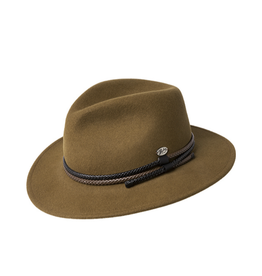 """Bailey Hat Co. HAT-FEDORA """"NELLES"""" W/TURNED DOWN BRIM"""