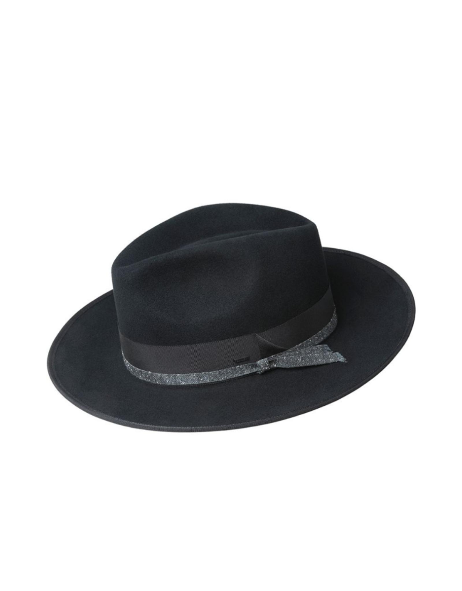 """Bailey Hat Co. HAT-FEDORA """"CLORINDON"""" W/BOUND BRIM"""