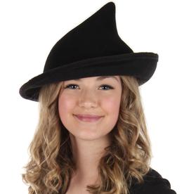 HAT-WITCH-MODERN BLACK