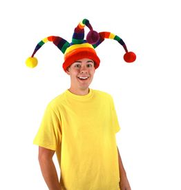 HAT-JESTER RAINBOW WACKY W/BALLS