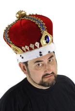 HAT-CROWN-ROYAL KING RED