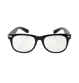 GLASSES-BLUES,BLACK/CLEAR LENS