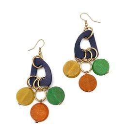 Faire/Anju Jewelry EARRINGS-OMALA RAINBOW