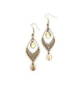 Faire/Anju Jewelry EARRINGS-SACHI ARCHES TAN
