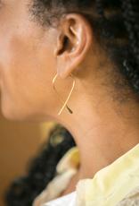 Faire/Minds Eye Design EARRINGS-LOOPS, BRASS