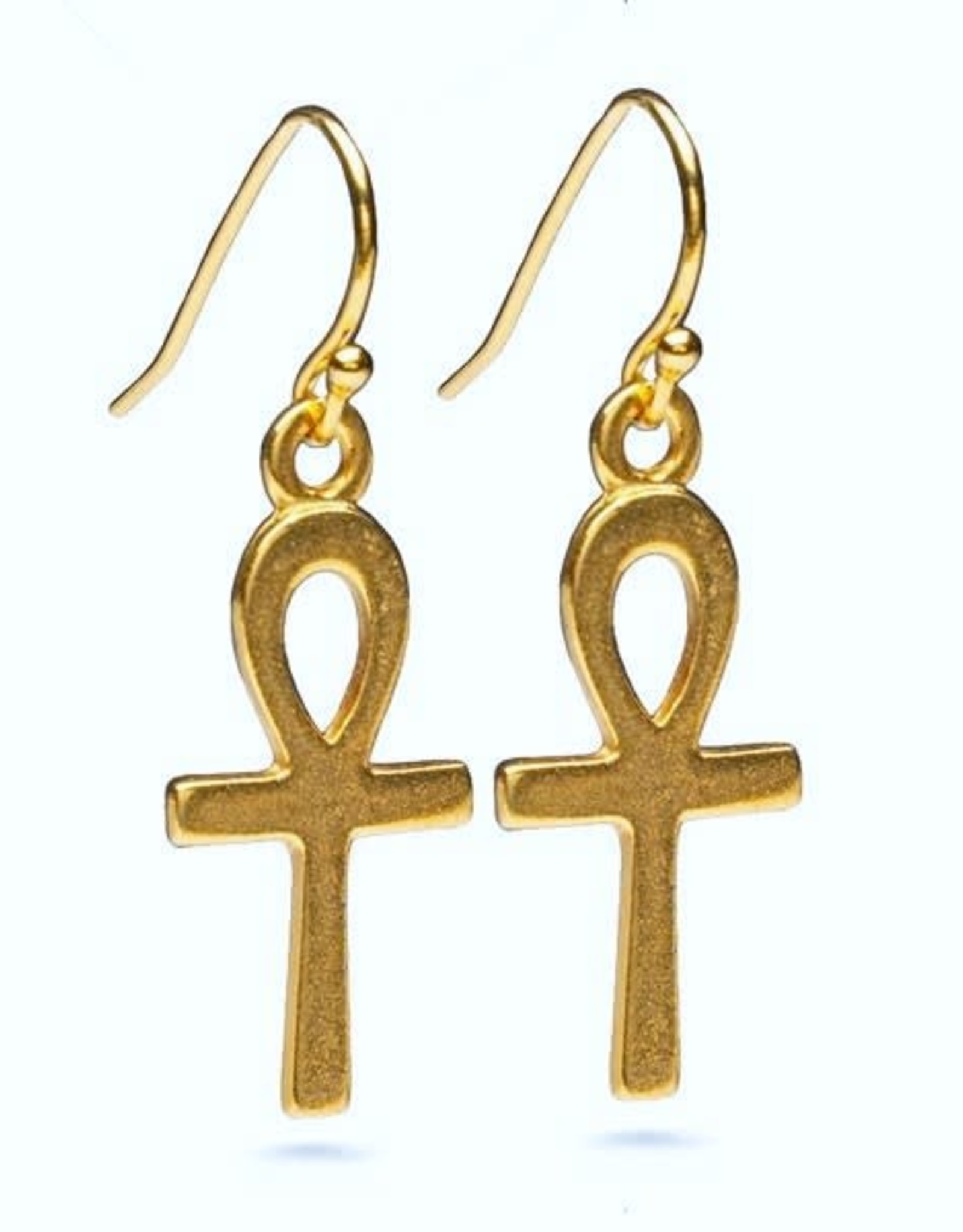 Faire/Museum Reproductions EARRINGS-ANKH