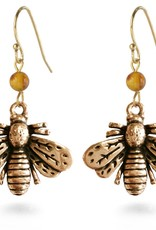 Faire/Museum Reproductions EARRINGS-NAPOLEANIC BEES