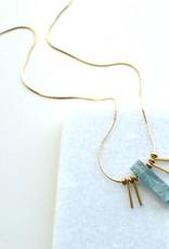 Faire/Ker-ij Jewelry NECKLACE-MABEL GLD W/