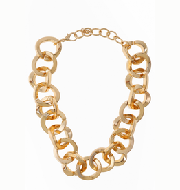 NECKLACE-CHAIN LARGE CIRCLES
