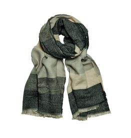 SCARF-WOVEN OVERSIZED