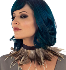 CHOKER-FEATHER, NATURAL