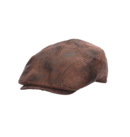 """HAT-IVY """"SABRE"""" WEATHERED LEATHER"""