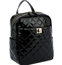 Lovelypurse4u BACKPACK-QUILTED BOX
