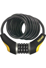 Topeak, Onguard ONGUARD DOBERMAN COIL CABLE COMBO LOCK 10MMX6''