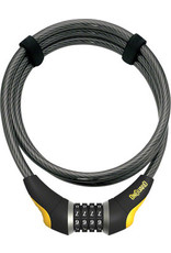 Topeak, Onguard OnGuard Akita Resettable Combo Cable Lock: 6' x 10mm