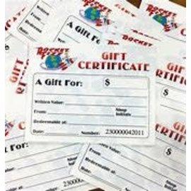 www.RocketFizzLancasterCA.com Gift Card $40