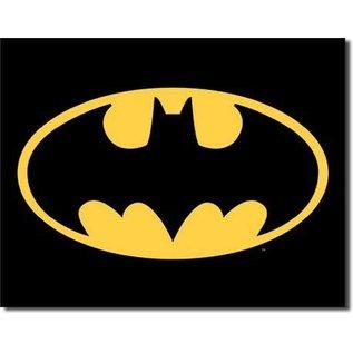 """Novelty  Metal Tin Sign 12.5""""Wx16""""H Batman - Logo Novelty Tin Sign"""
