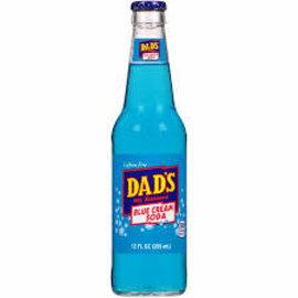 Soda at Rocket Fizz Lancaster Dad's Blue Cream Soda