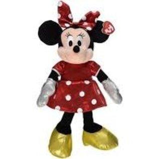 Ty Inc. Beanie Baby Minnie Ty Dye 13 Inch