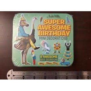 Rocket Fizz Lancaster's Birthday Mini Decorations In Tin