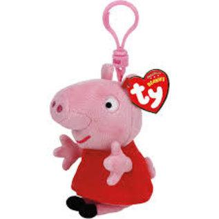 Ty Inc. Beanie Baby Peppa Pig Clip